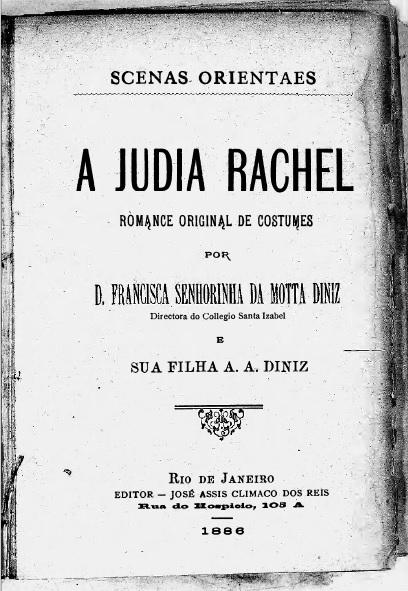 A Judia Rachel (Capa)